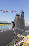 Typ 214 podwodny S-120   Obrazy Stock