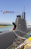 Type 214 onderzeeër s-120   Stock Afbeeldingen