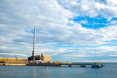 Piraeus industial zon Royaltyfri Fotografi