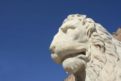 Piraeus Lion at Venetian Arsenal Royalty Free Stock Photos
