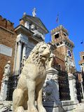 Piraeus Lion, Venice Royalty Free Stock Photos