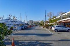 Piraeus Marina in Athens, Greece Royalty Free Stock Photo