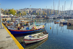Piraeus Marina in Athens, Greece Royalty Free Stock Images