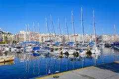 Piraeus Marina in Athens, Greece Stock Photo