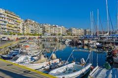 Piraeus Marina in Athens, Greece Stock Image