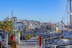 Piraeus Marina in Athens, Greece Royalty Free Stock Image