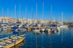Piraeus Marina in Athens, Greece Royalty Free Stock Photography