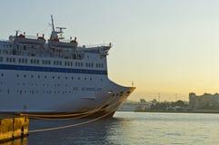 Piraeus port Arkivbilder