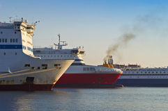 Piraeus port Royalty Free Stock Images