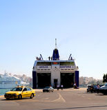 Piraeus Port vehicle ferry Royalty Free Stock Photography