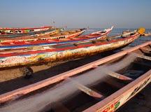 Piraguas de la pesca Fotografía de archivo