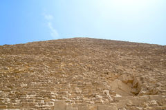 Piramid. In this photograph shows the pyramids in Egypt Stock Images