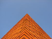 砖piramid 免版税图库摄影