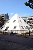 Piramid in Amsterdam, Holland Stock Image