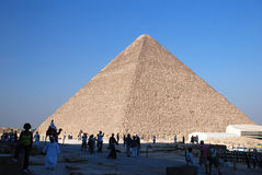 Piramid de Cheops fotos de stock royalty free