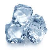 Piramid dei cubetti di ghiaccio immagini stock libere da diritti