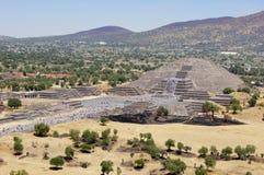 Piramid della luna Fotografia Stock