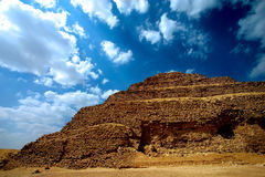 Piramid di Zoser fotografia stock libera da diritti