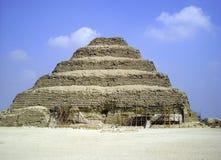 Piramid Saqquara Royaltyfri Foto