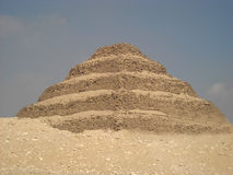 Piramid of saqquara Royalty Free Stock Photos