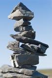 Piramid of stones Royalty Free Stock Photos