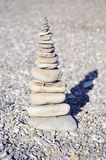 Piramid of stones Royalty Free Stock Photography