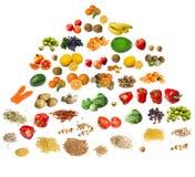 piramida żywności Zdjęcia Stock
