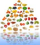piramida żywności Zdjęcie Royalty Free