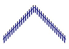 piramida człowieka Obraz Royalty Free