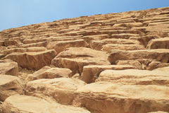 piramida egipska ściany Zdjęcia Royalty Free