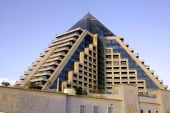 piramida emiratów araba Dubaju united Zdjęcia Stock