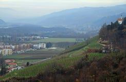 Piramida hill in Maribor, Slovenia Stock Image