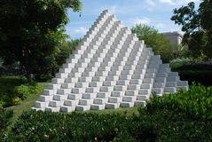 piramida jest Waszyngton Fotografia Royalty Free