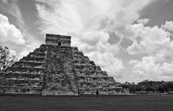 piramida majów Zdjęcia Royalty Free