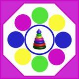 piramide vector illustratie