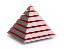 Piramide royalty illustrazione gratis
