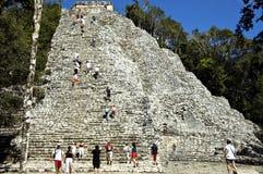 Piramide 2 del Maya Fotografie Stock Libere da Diritti