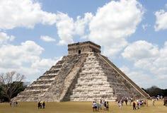 Piramide bei Chichen Itza Lizenzfreie Stockbilder