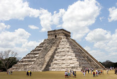 Piramide at Chichen Itza Royalty Free Stock Images