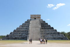 Piramide Chichen Itza Fotografia Stock Libera da Diritti