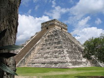 Piramide - Chichen Itza - Yucatan/Mexico royalty-vrije stock afbeeldingen