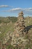 Piramide de piedra Imágenes de archivo libres de regalías