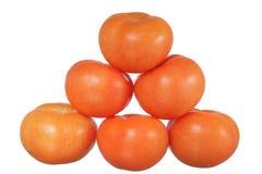 Piramide dei pomodori Immagine Stock