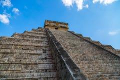 Piramide del ¡ di Chichén Itzà Fotografia Stock Libera da Diritti