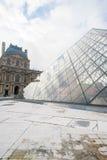 Piramide del Louvre Fotografia Stock Libera da Diritti