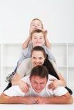 Piramide della famiglia immagini stock