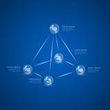Piramide delle palle royalty illustrazione gratis