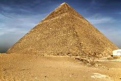 Piramide di Cheops a Giza Fotografie Stock Libere da Diritti