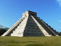 Piramide di Chichen Itza Fotografia Stock Libera da Diritti