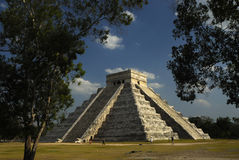 Piramide di Chichen Itza Fotografie Stock Libere da Diritti
